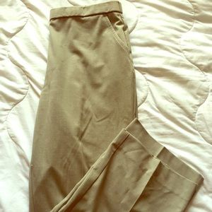 🆕 Dana Buchman Khaki Dress Pants Trousers 12S